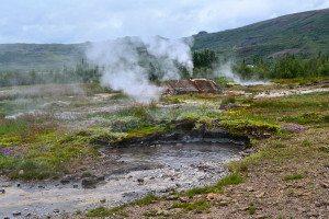 Geysir area - golden circle