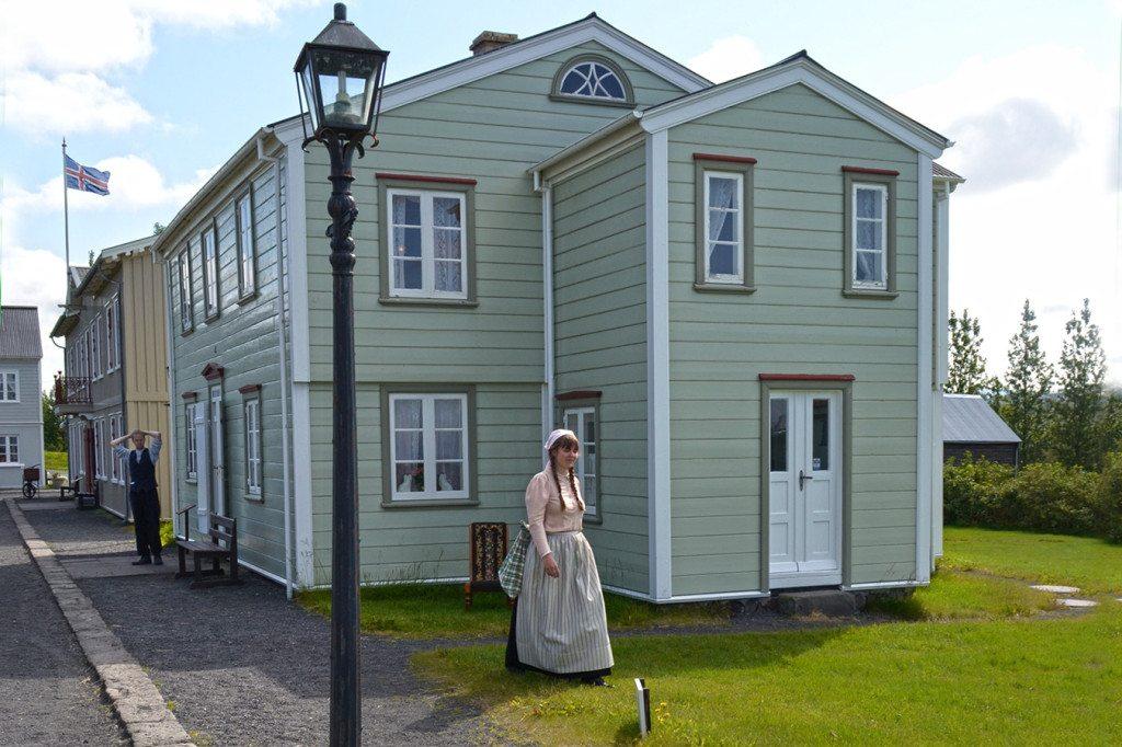 Island Reykjavik - Arbaejarsafn