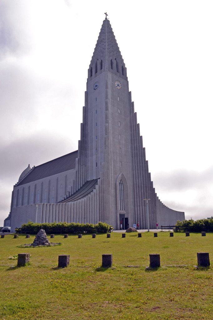 Island Reykjavik Hallgrimskirkja