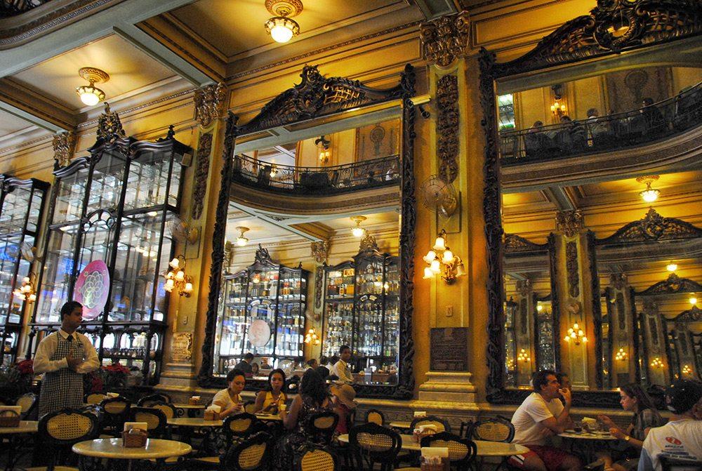 Najkrajšie kaviarne - Café Colombo, Rio de Janeiro