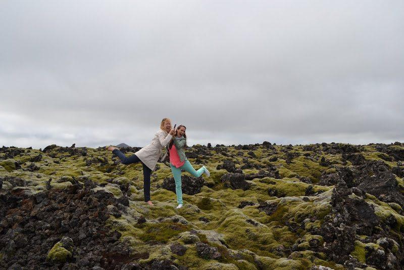 Island - mach, láva a sopky
