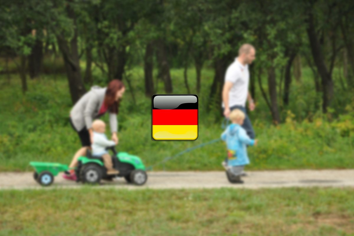 rodina po nemecky
