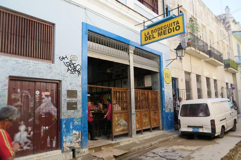 Bodeguita s Ernestovym Mojitom, Kuba Havana