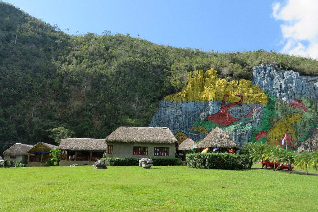 murales de prehistoria - kuba