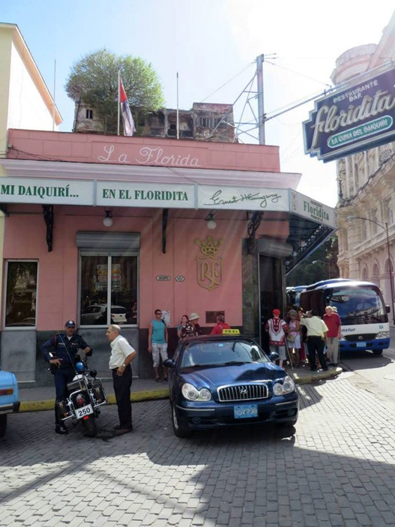 Daiquiri Ernesta Hemingwaya, Kuba