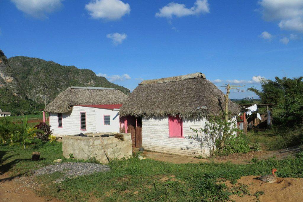 domčeky v údolí Viñales