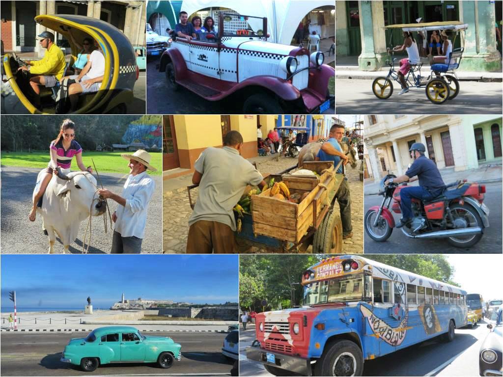 Kubánske dopravné prostriedky
