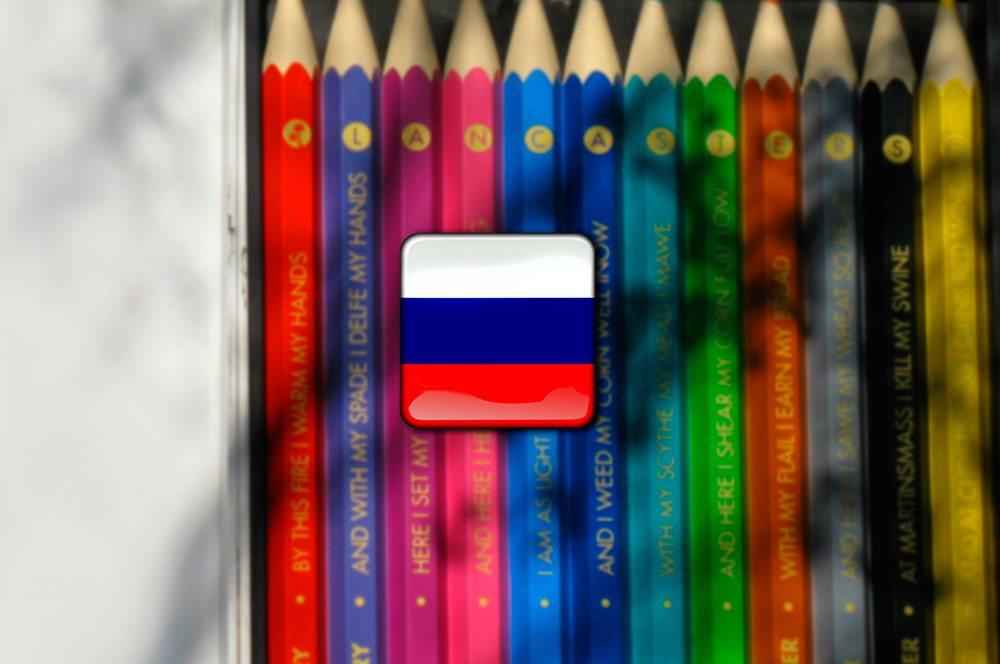Ruština - farby po rusky