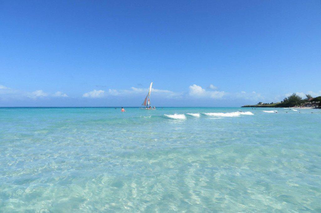 piesočná pláž Varadero, Kuba
