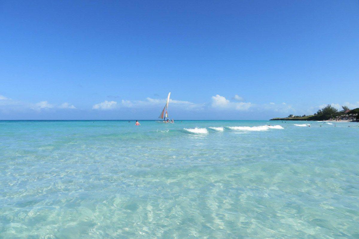 Kuba - piesočná pláž Varadero