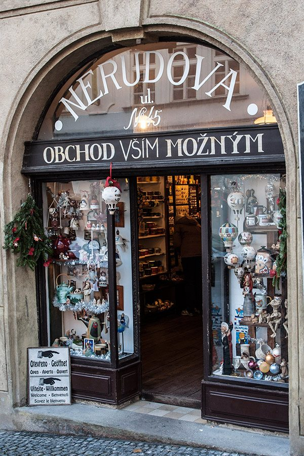 suveníry Praha