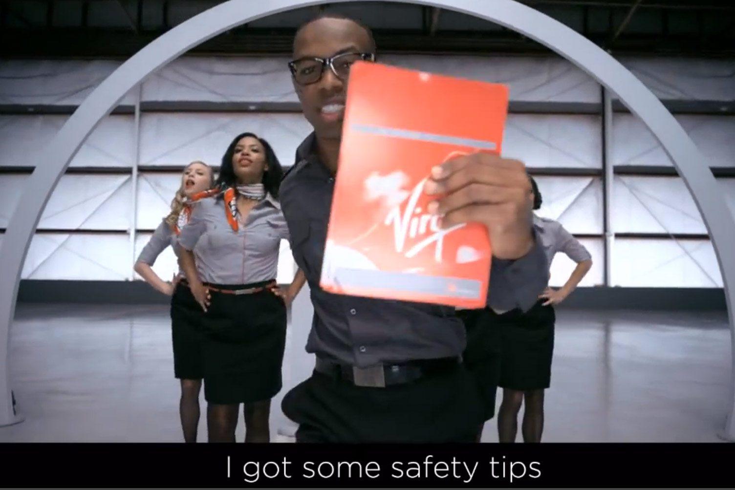 bezpečnostné inštrukcie Virgin