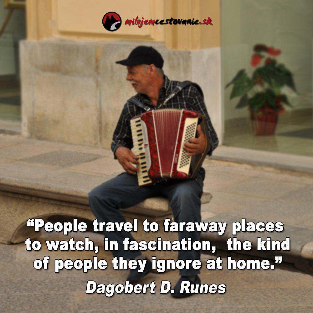 slávne výroky a cestovanie