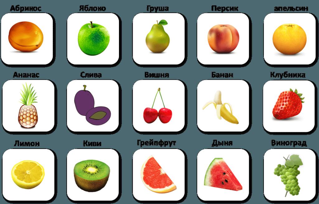 Ovocie po rusky