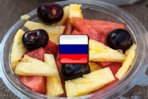 Ovocie po rusky | ruština pre samoukov