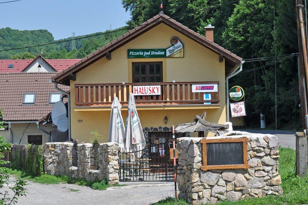 Pizzeria pod hradom - Sklené Teplice