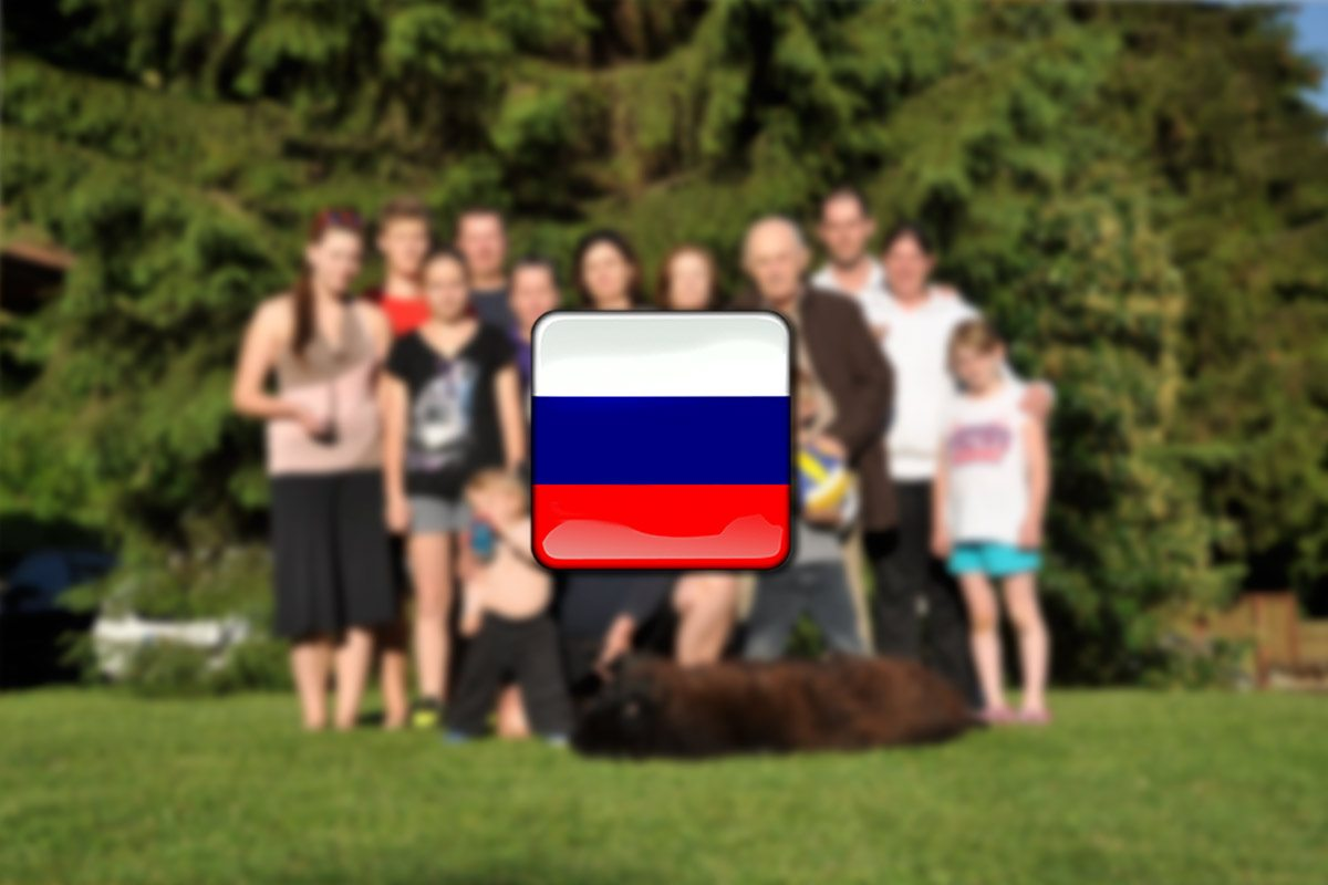 rodina po rusky