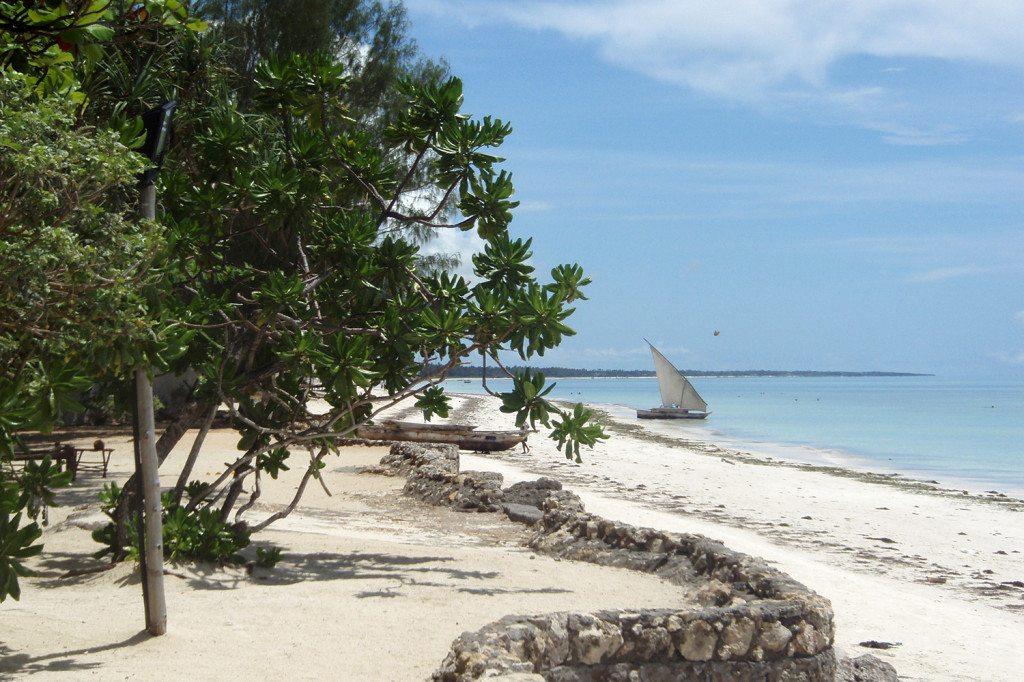 Pláže na Zanzibare