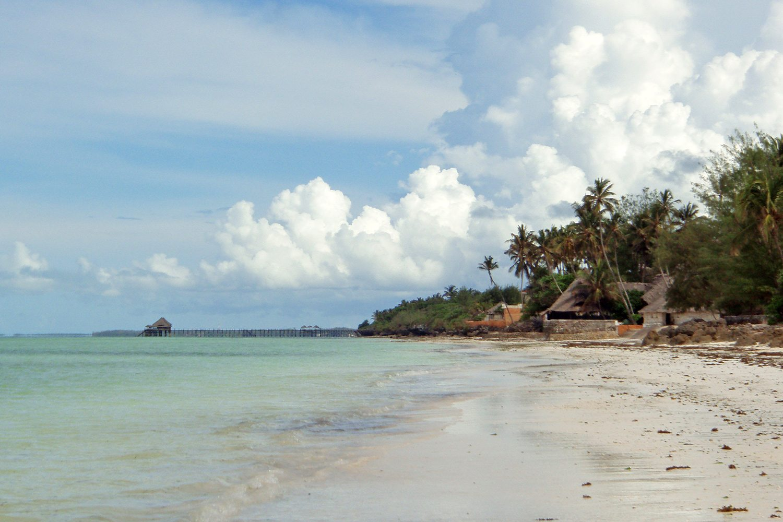 Zanzibar - pláž a more