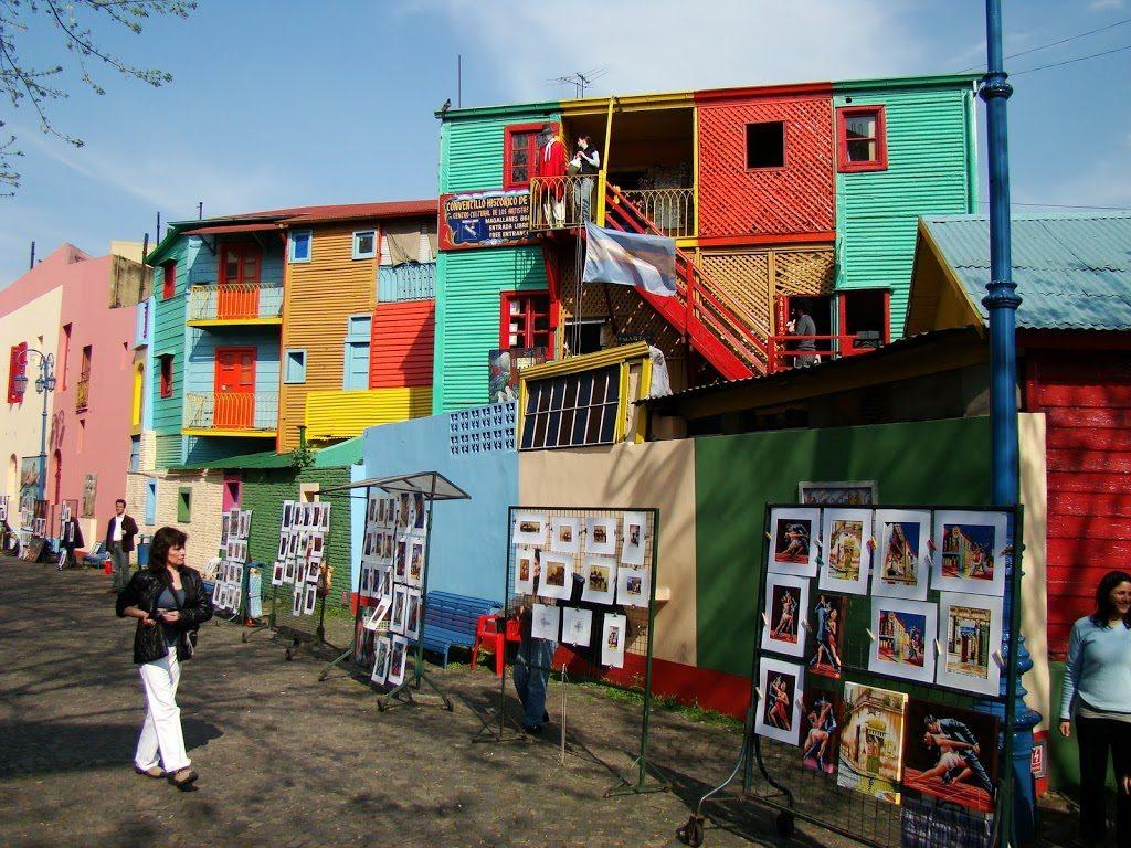 Buenos Aires - časť La Boca