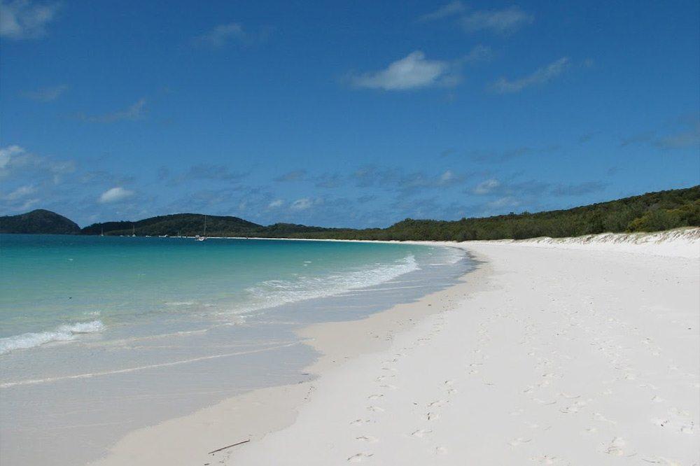 Austrália - opustená pláž