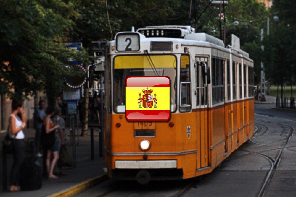 doprava po španielsky - španielčina
