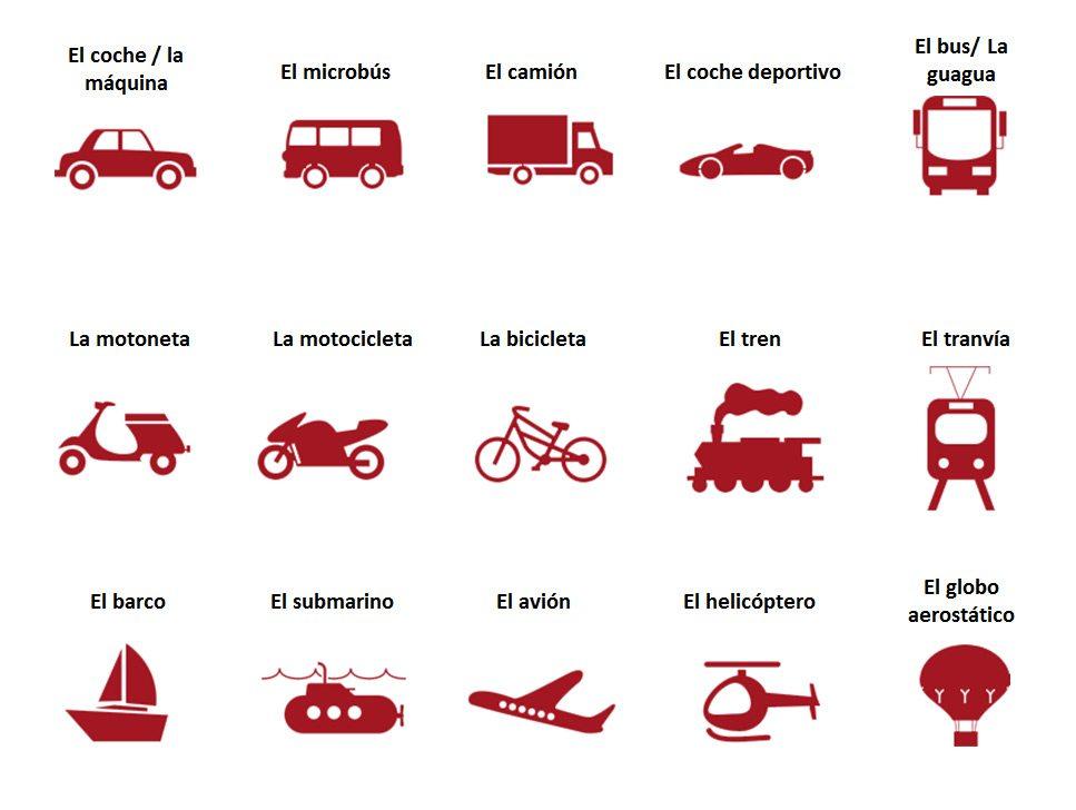 doprava po španielsky