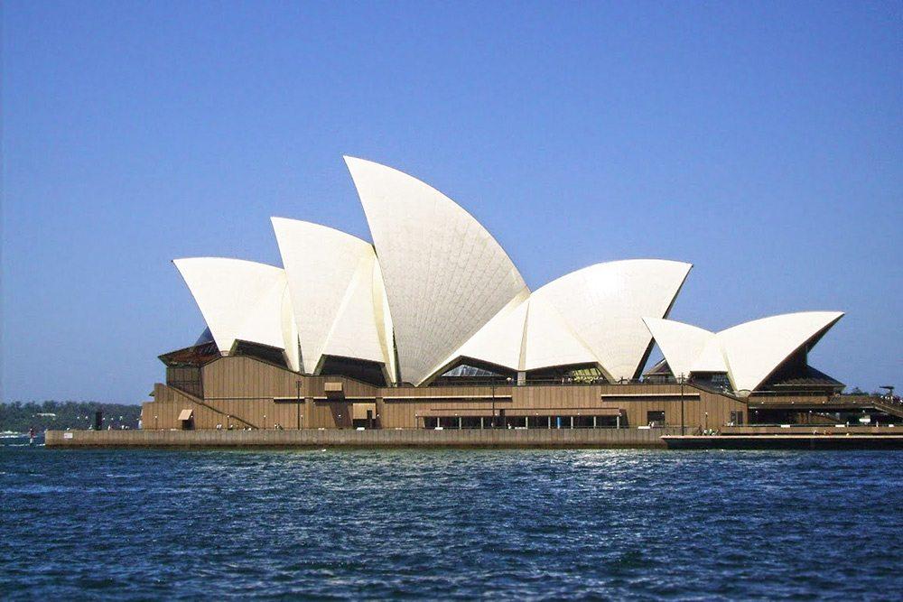 Opera v Sydney - symbol Austrálie