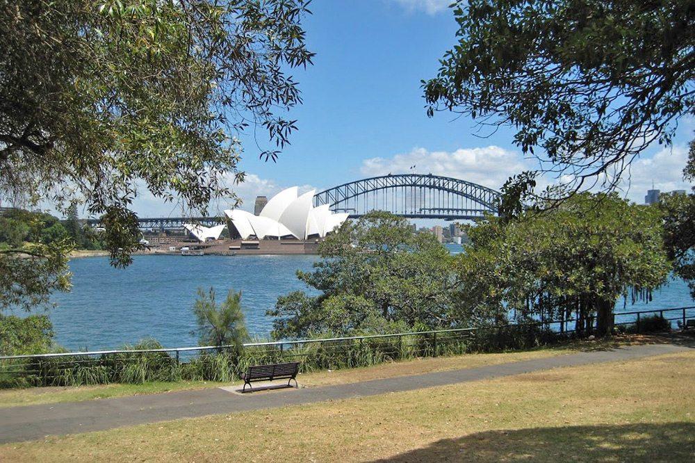 Sydney - výhľad na prístav