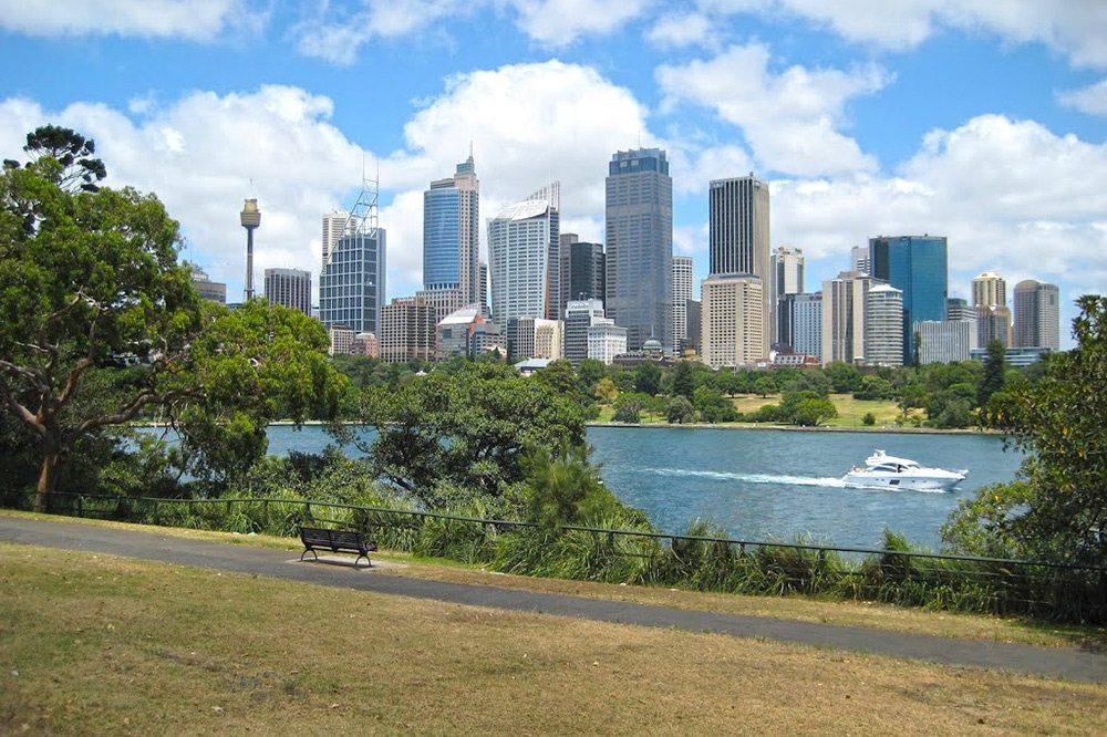 Panorama v Sydney, Austrália
