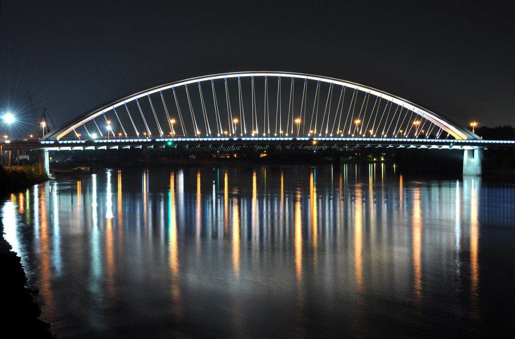 Apollo Bridge Bratislava, Slovakia