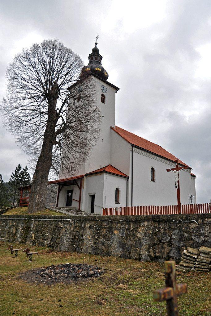 Čičmany - kostol
