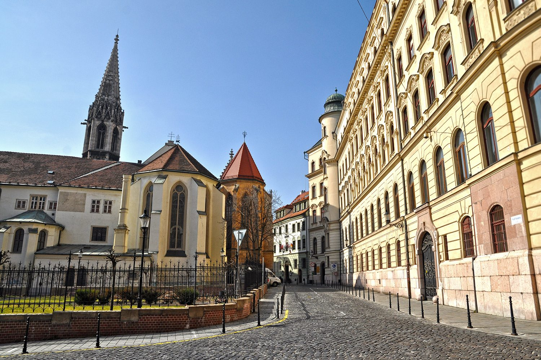 Churches in Bratislava, Slovakia
