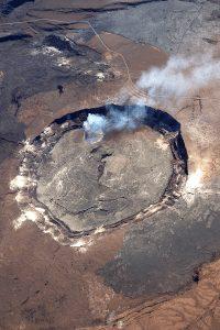 Hawaii active volcano