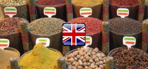 spices - bylinky a korenia po anglicky