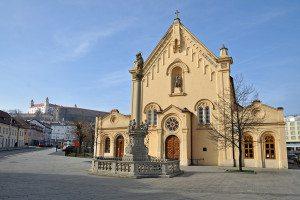 Najkrajšie kostoly v Bratislave - Kostol svätého Štefana
