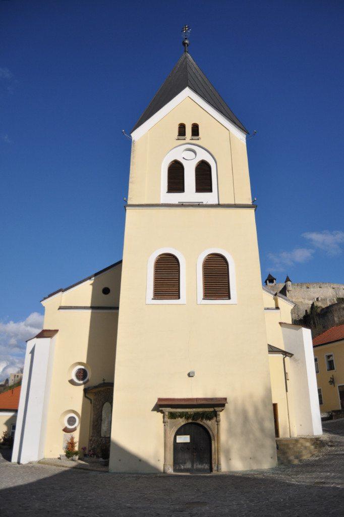 farský kostol v Trenčíne