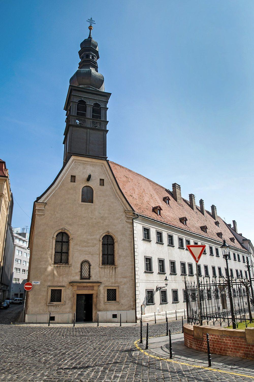 Kostol Uršulínok - najkrajšie kostoly v Bratislave