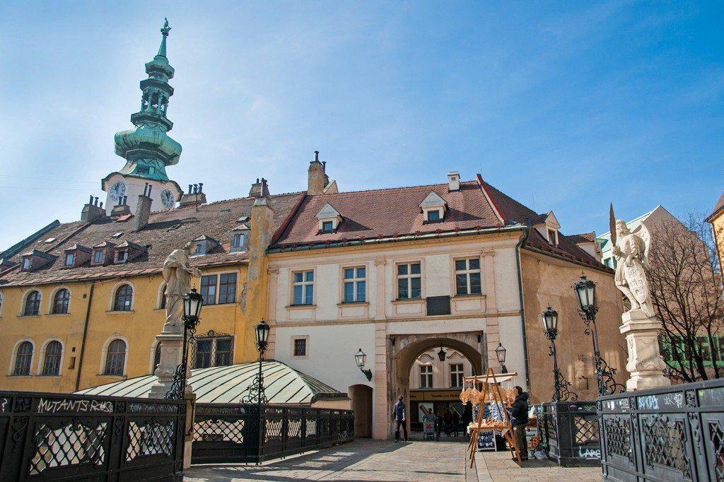 Michaels gate Bratislava - staré mesto