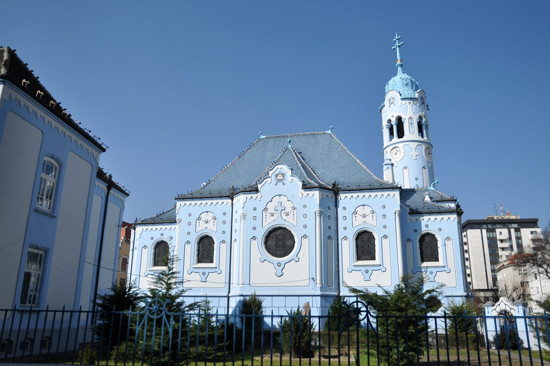 Blue Church Bratislava The Blue Church Bratislava