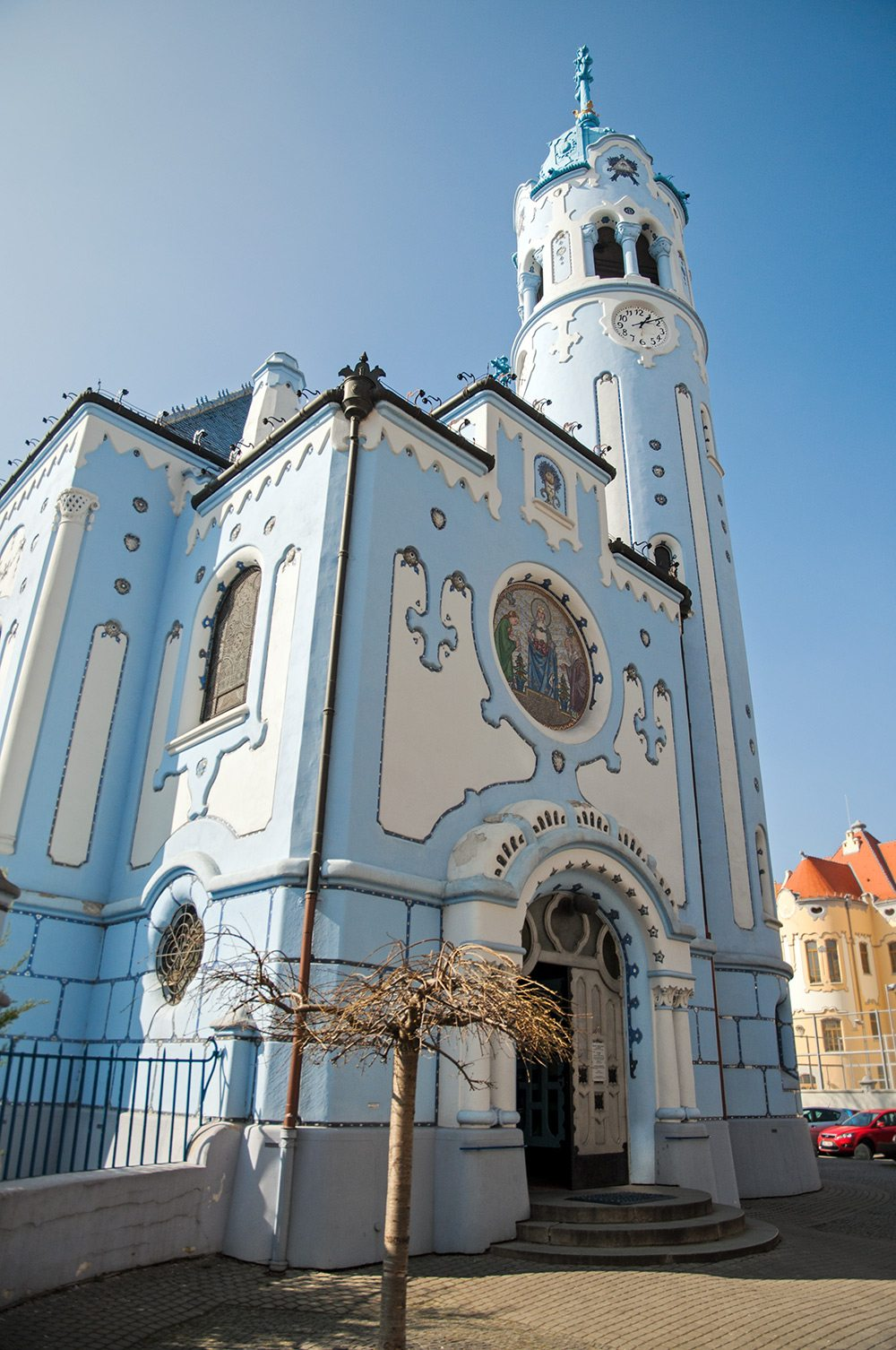 Kostol sv. Alžbety - The blue Church of St. Elisabeth