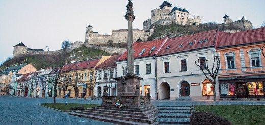 Trenčín and Trenčín castle