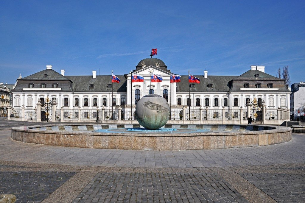 Presidential palace (Grasalkovich palace) | Bratislava sightseeing