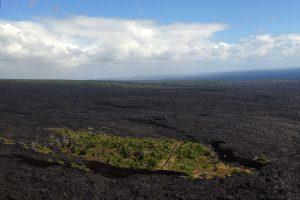 Hawaii volcanic scenery
