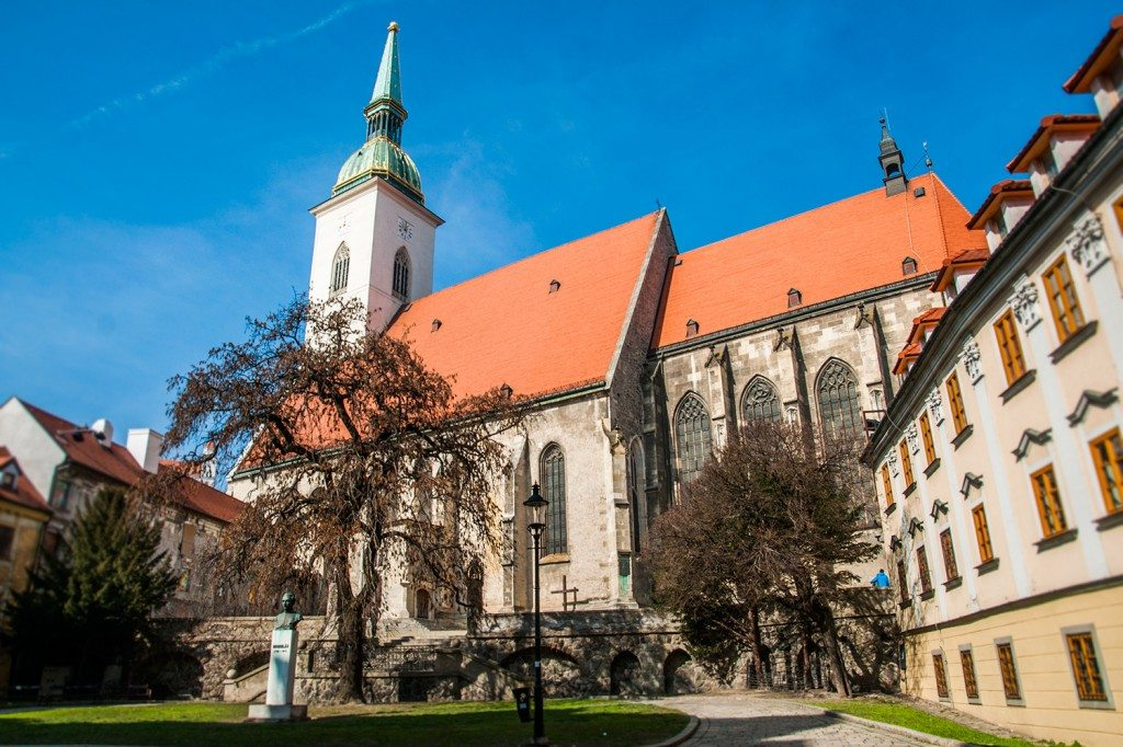 St martins cathedral | Bratislava sights