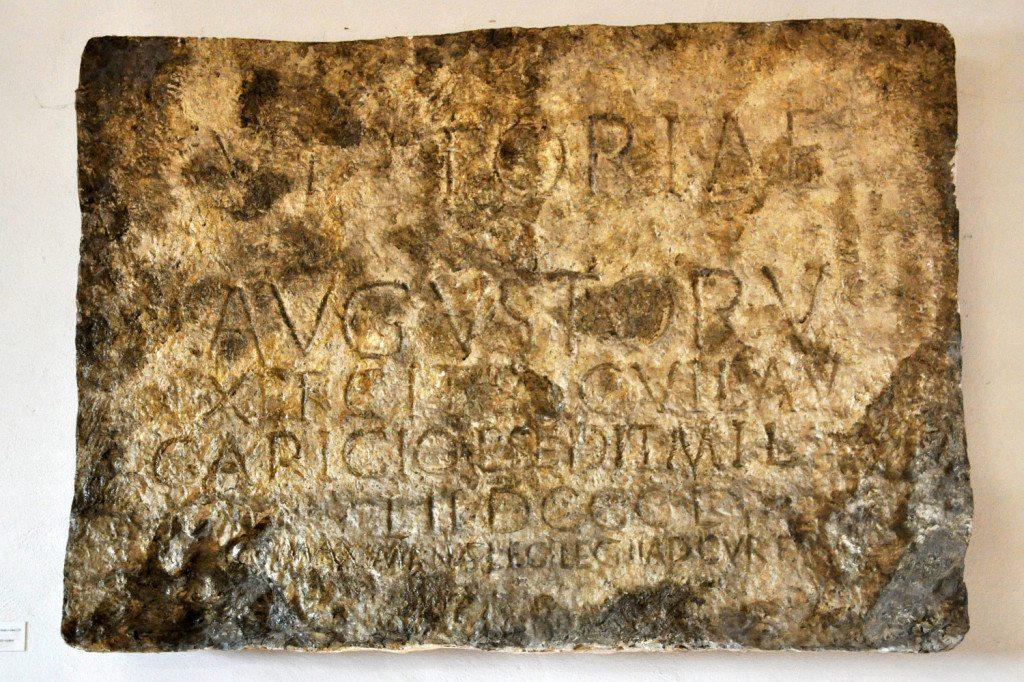 trenčín - rímska tabuľa z 179
