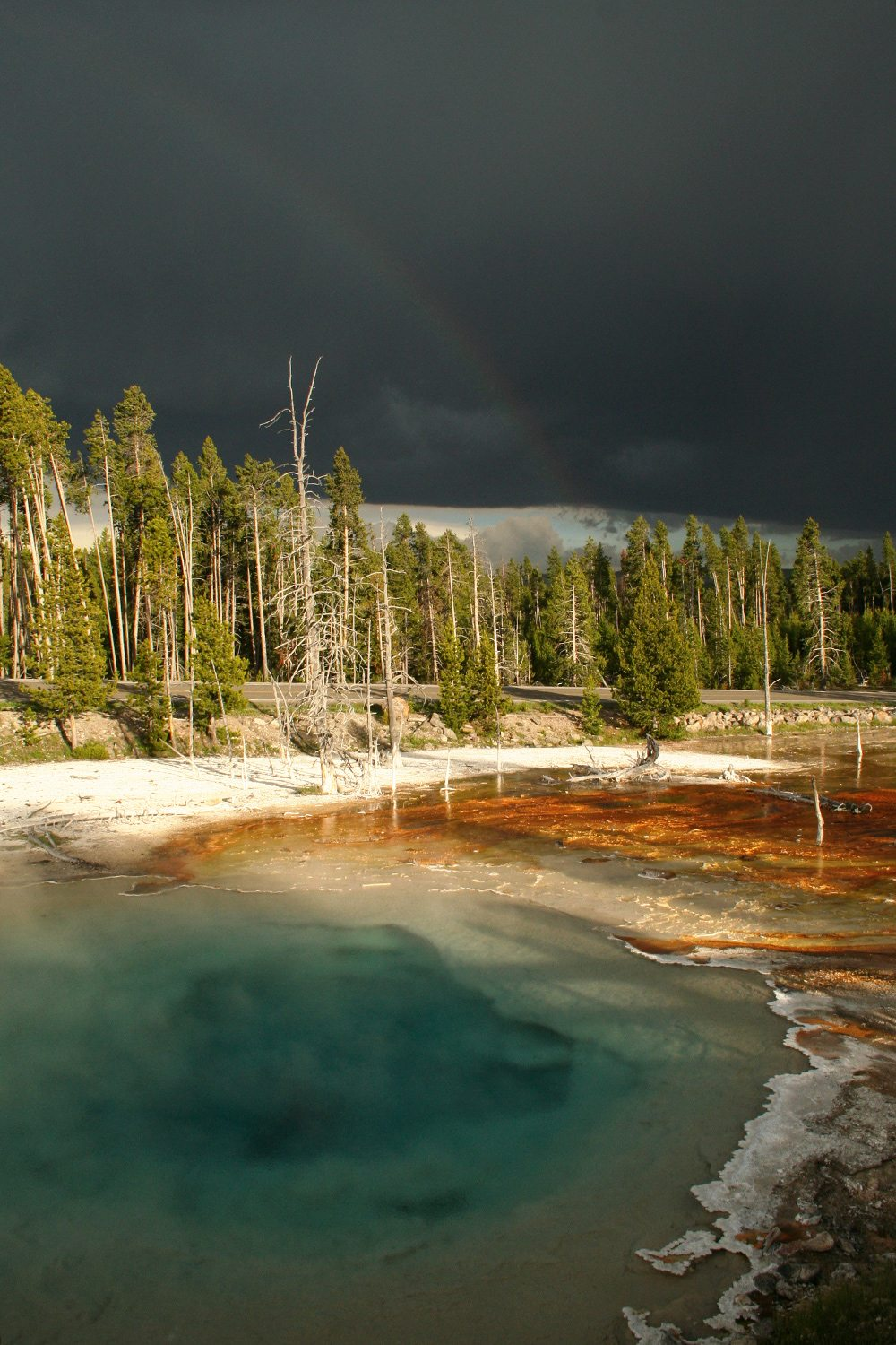 Yellowstone National Park - rainbow