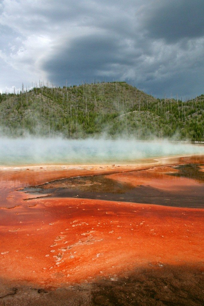 Yellowstone National Park - red pool
