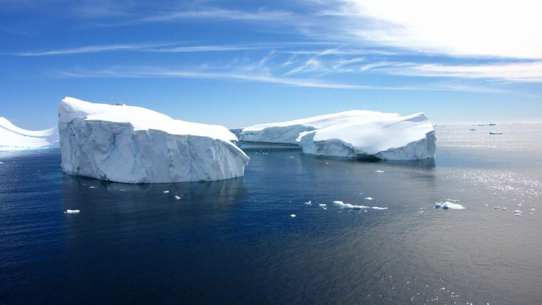 Antarktída ľadovce