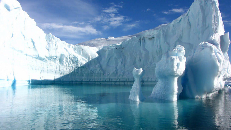 Antarktída - ľadové zátoky